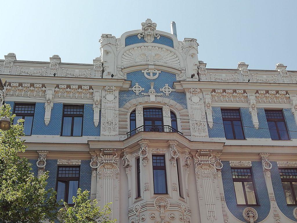 Jugenstil, Riga
