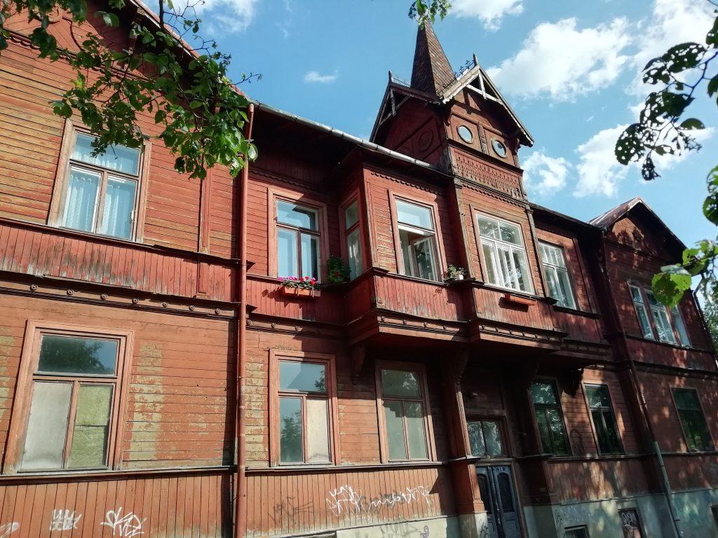 Kipsala ahşap evi, Riga