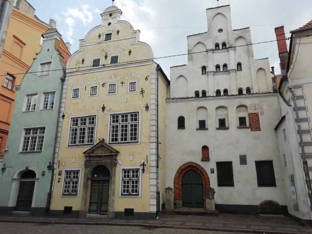 Üç kardeşler (Three brothers), Riga