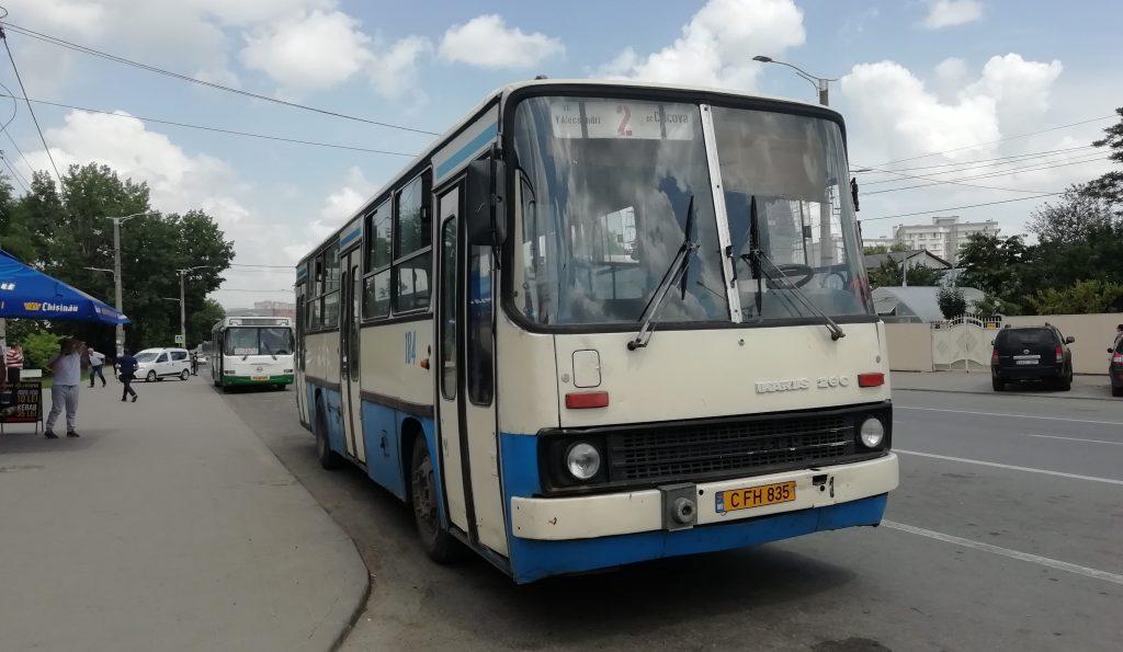 2 numaralı Kişinev - Cricova otobüsü